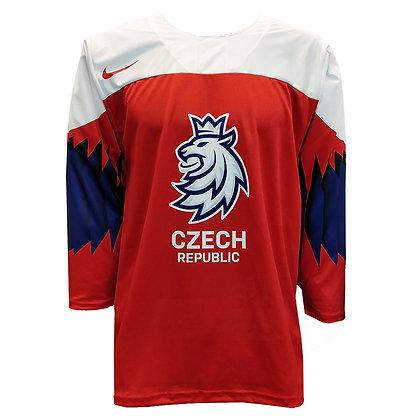 Men's Team Czech 2019 IIHF World Junior Championship Replica Red Jersey