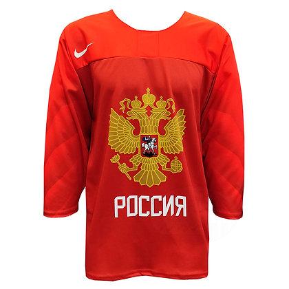 Men's Team Russia 2019 IIHF World Junior Championship Replica Red Jersey