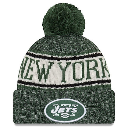 Men's New York Jets New Era 2018 Sideline Official Sport Knit hat