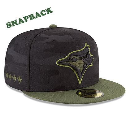 Toronto Blue Jays New Era 2018 Memorial Day 9FIFTY Snapback Hat