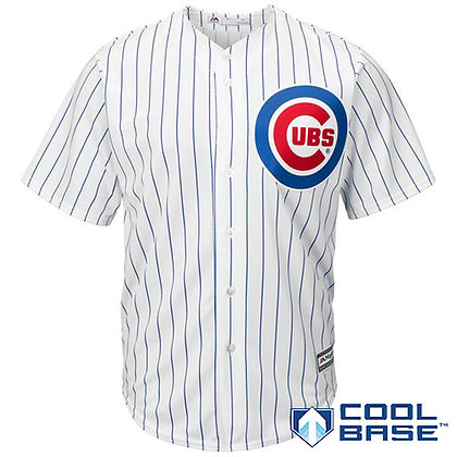 Men's Chicago Cubs Majestic White Home Cool Base Team Jersey