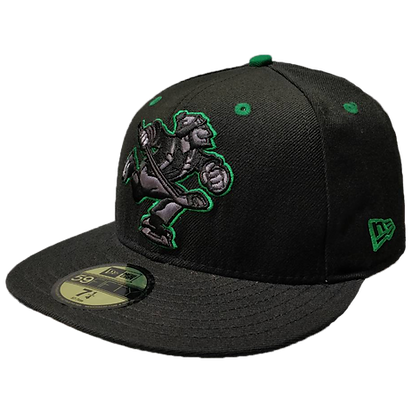 Men's Vancouver Canucks Full Body Johnny Canuck Green/ Black 59FIFTY Fitted hat