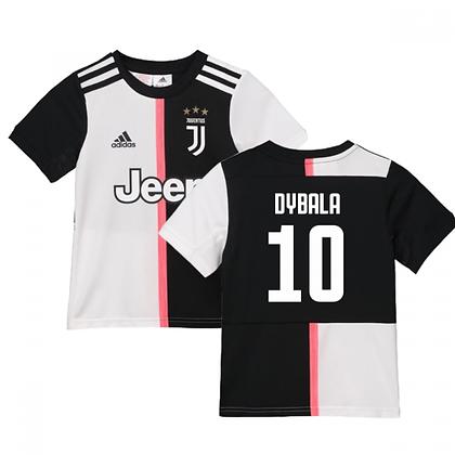 Youth Juventus adidas Dybala Home Jersey 2019/20