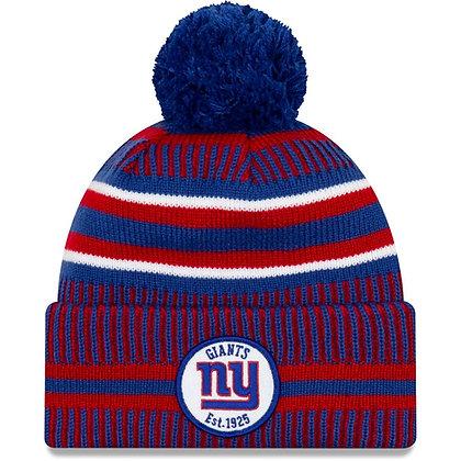 Men's New York Giants New Era Royal/Red 2019 NFL Sideline Home Official Sport Kn