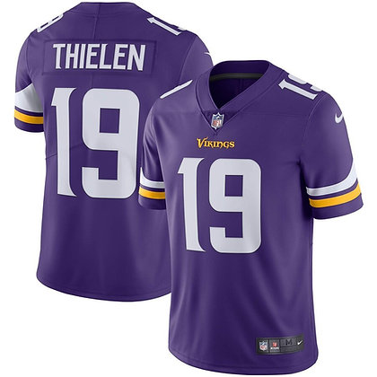 Men's Minnesota Vikings Adam Thielen Nike Purple Limited Jersey