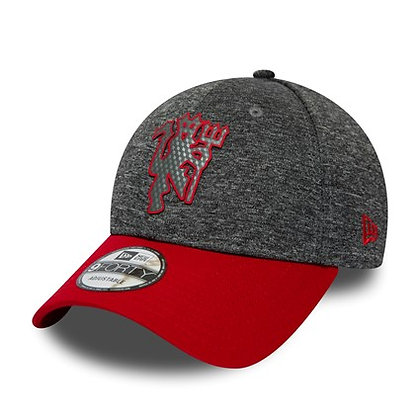 Manchester United New Era Shadowtech Grey 9FORTY Adjustable Hat