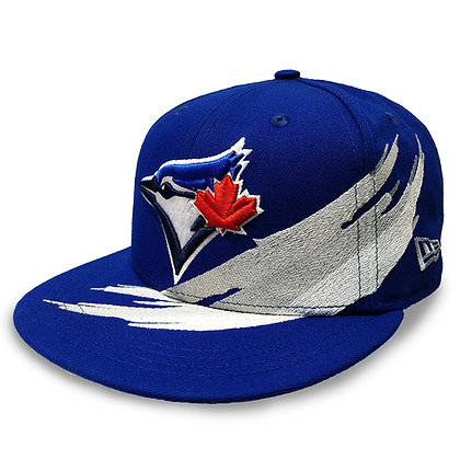 Men's Toronto Blue Jays Brush Collection New Era 9FIFTY Royal Blue Snapback Hat