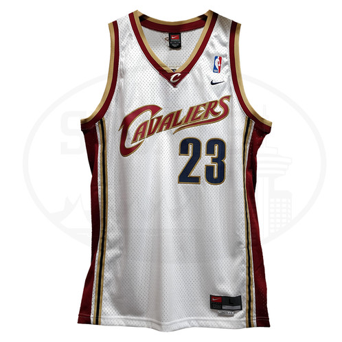 more photos 0de4b 898a2 Men's Cleveland Cavaliers Lebron James 2003-04 Nike ORIGINAL ROOKIE Jersey  WHITE