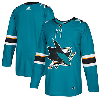 Men's San Jose Sharks adidas NHL Authentic Home Jersey