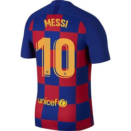 Men's Barcelona Messi Nike Home Jersey 2019/20