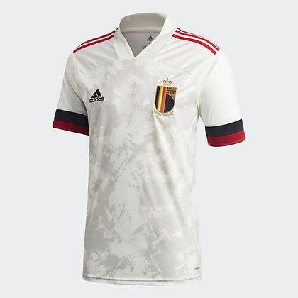 Men's Belgium Away adidas Euro 2020 Blank Jersey