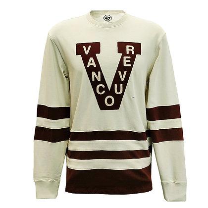 Men's Vancouver Millionaires '47 Brand Center Ice Crew Sweater