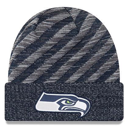 Seattle Seahawks New Era 2018 NFL Sideline Cold Weather TD Knit Hat