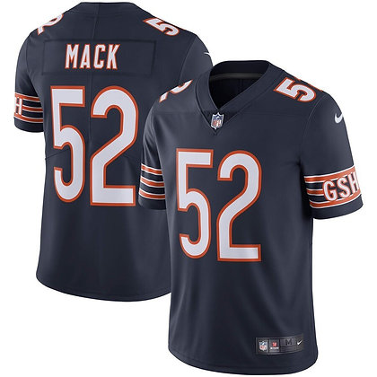 Men's Chicago Bears Khalil Mack Nike Navy Vapor Limited Jersey