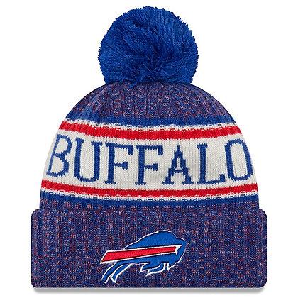 Men's Buffalo Bills New Era 2018 Sideline Official Sport Knit hat