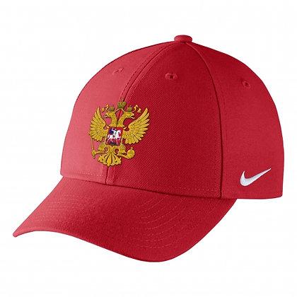 Team Russia 2019 IIHF WJC Nike DRI-FIT Adjustable Hat