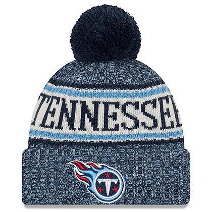 Men's Tennessee Titans New Era 2018 Sideline Official Sport Knit hat