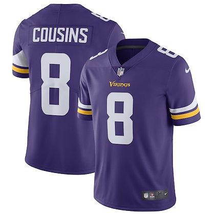 Men's Minnesota Vikings Kirk Cousins Nike Purple Limited Jersey