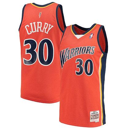 Men's Golden State Warriors Stephen Curry 2009-10 HWC Mitchell & Ness Swingman