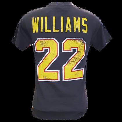 Men's Vancouver Canucks Williams Retro Flying Skate OTH Alumni Grey T-shir
