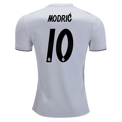 Men's Real Madrid Luka Modric adidas Home Jersey 18/19
