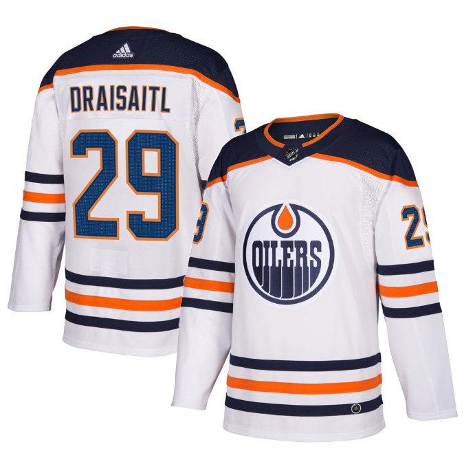 best service e7ac8 2fbdb Men's Edmonton Oilers Leon Draisaitl adidas NHL Authentic Pro Home /Away  Jersey