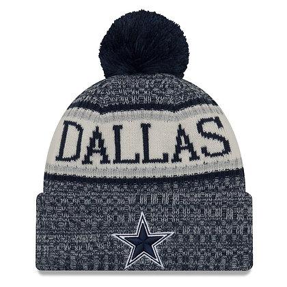 Men's Dallas Cowboys New Era 2018 Sideline Official Sport Knit hat