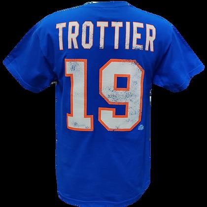 Men's New York Islanders Bryan Trottier #19 OTH Alumni Blue T-shirt