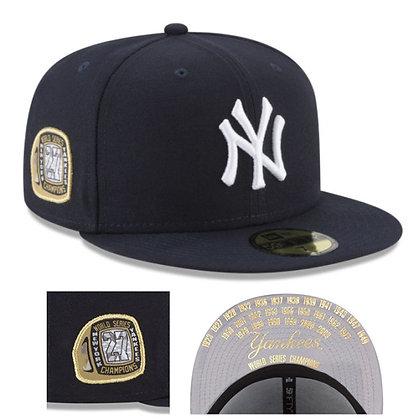 Men's New York Yankees New Era MLB Title Trim 59FIFTY Hat