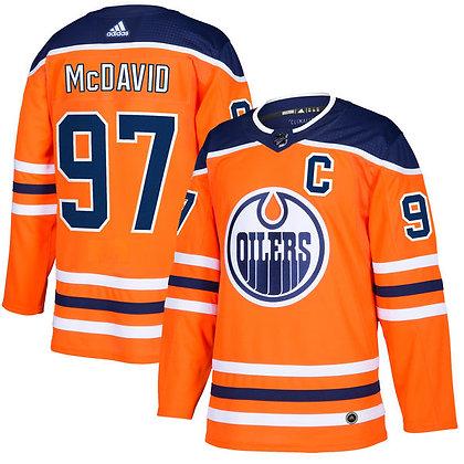 Men's Edmonton Oilers Connor McDavid adidas NHL Authentic Pro Home /Away