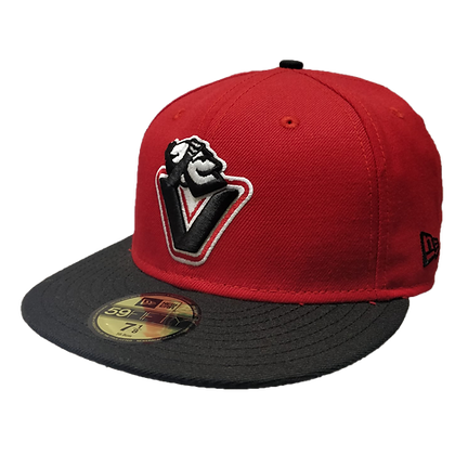 Men's Johnny V Canucks Red/ Black 59FIFTY Fitted Hat