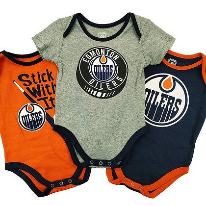 Edmonton Oilers Five on Three Creeper 3 Pack