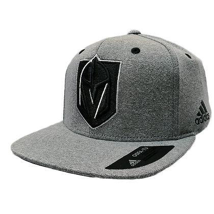 Men's Vegas Golden Knights adidas Light Heather Grey Snapback Hat