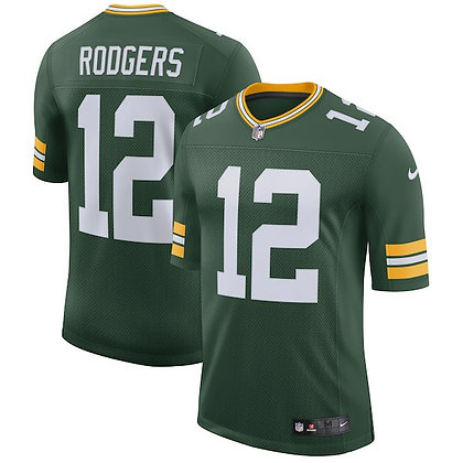 Men's Green Bay Packers Aaron Rodgers Nike Green Limited Jersey