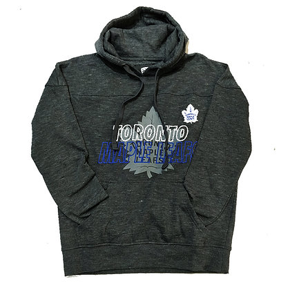 Men's Toronto Maple Leafs OTH fleece Heather Grey with Embroidery Hoodie