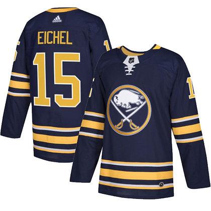 Men's Buffalo Sabres Jack Eichel adidas NHL Authentic Pro Home Je