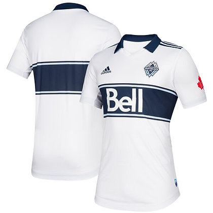 Men's Vancouver Whitecaps FC White adidas 2019 Replica Jersey
