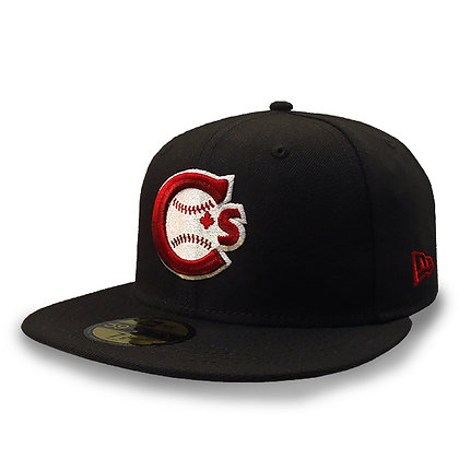 Men's Vancouver Canadians New Era Team Logo Black 59FIFTY Hat