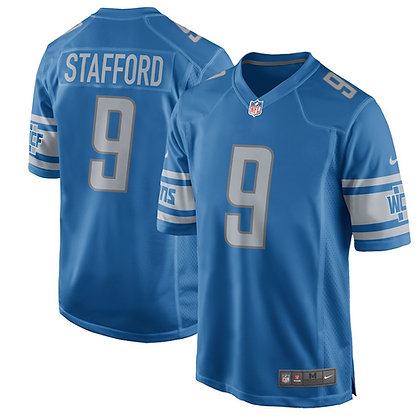 Men's Detroit Lions Matthew Stafford Nike Blue Limited Jersey