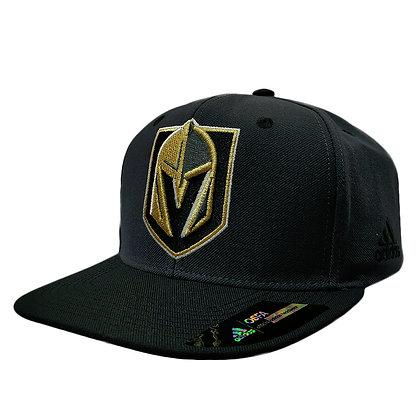 Men's Vegas Golden Knights adidas Dark Grey/ Black Snapback Hat