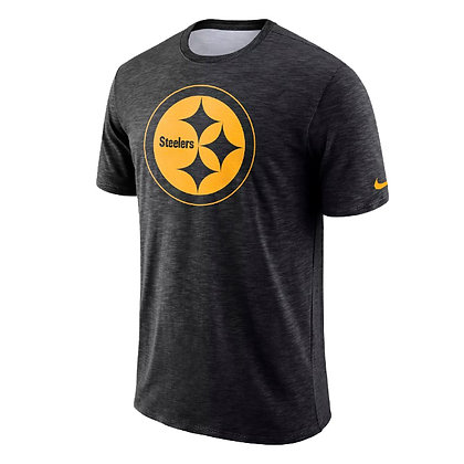 Men's Pittsburgh Steelers Nike Black Sideline Legend On-Field T-Shirt