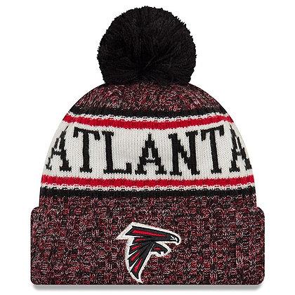 Men's Atlanta Falcons New Era 2018 Sideline Official Sport Knit hat
