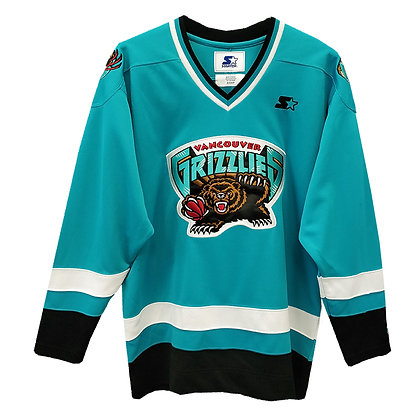 Men's Vancouver Grizzlies Starter Hockey Jersey