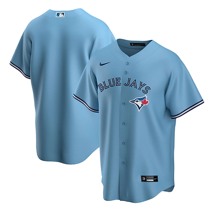 Men's Toronto Blue Jays Nike Powder Blue Alternate 2020 Replica Team Jersey