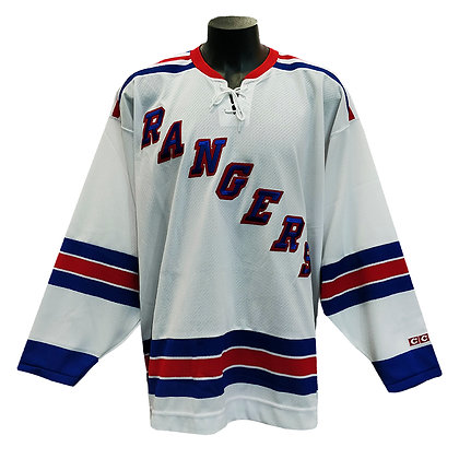 Men's New York Ranger CCM Vintage Replica White Jersey