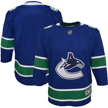 Youth Vancouver Canucks Blue Premier Jersey