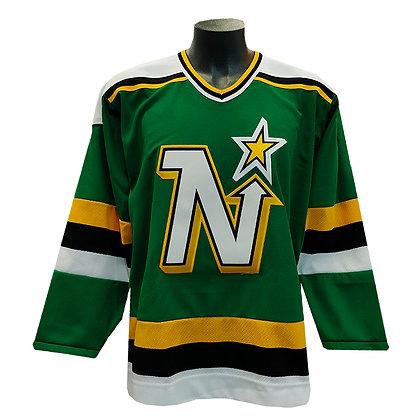 Men's Minnesota North Stars CCM Vintage Replica Jersey 1991