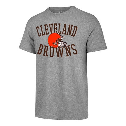 Men's Cleveland Browns '47 Brand Grey T-Shirt