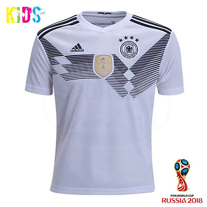 Kids' Germany Home adidas World Cup 2018 Home Jersey