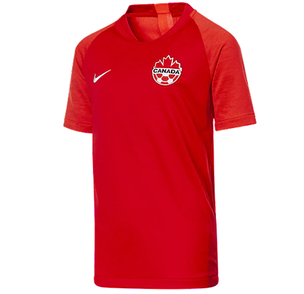 Youth's Team Canada Nike Soccer Home Jersey